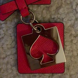 kate spade Accessories - Red Kate Spade Key Chain NWT
